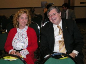 Peter Geissler at Region II conference in 2005; with Linnaea Mallette