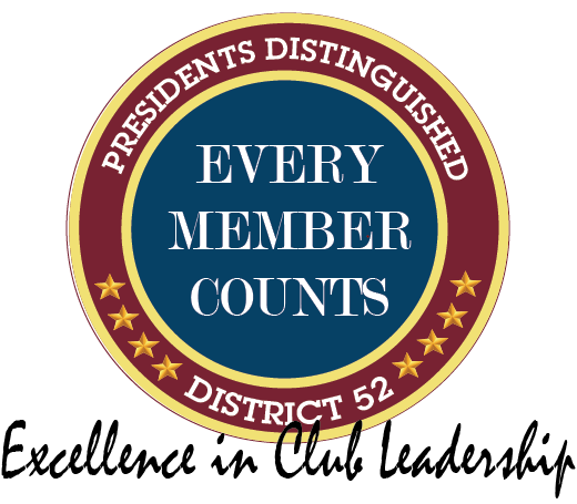 Presidents Distinguished logo excellence