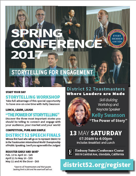 Click to download the Spring Conference PDF Flier